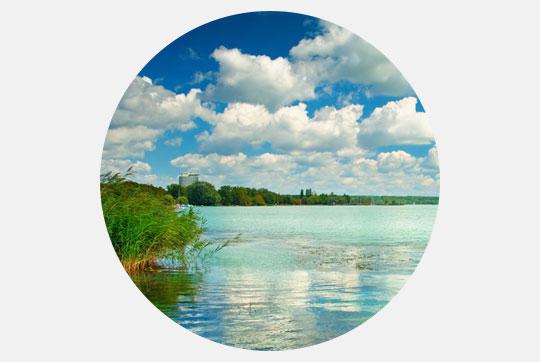 Vignette Lake Balaton