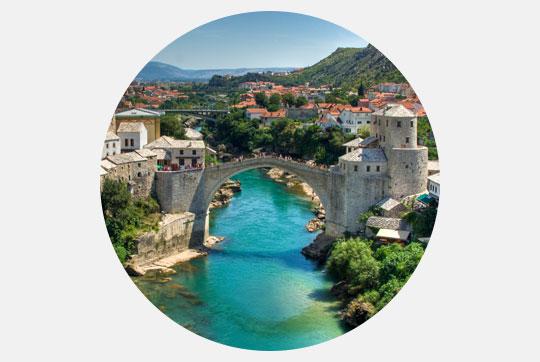 Vignette Mostar