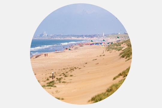 Vignette Noordwijk aan Zee